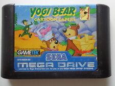 Mega Drive-Yogi BEAR CARTOON CAPERS (modulo)
