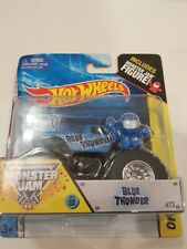 Hot Wheels 2014 Monster Jam MJ Figure *Blue Thunder*