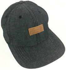 8abbebcc72c9f American Eagle 🦅 Leather Patch Gray Adjustable Snapback Baseball AEO Hat  Cap