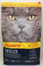 Josera Catelux Luxusmenü mit Ente für anspruchsvolle Katzen 10kg +***Geschenk***