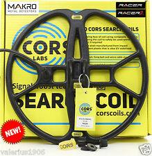 "New CORS STRIKE 12""x13"" DD search coil for Makro Racer/Racer 2 + cover + bolt"