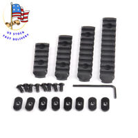 4Pcs 20mm Picatinny Weaver Rail Section Base adapter mount for hunting US