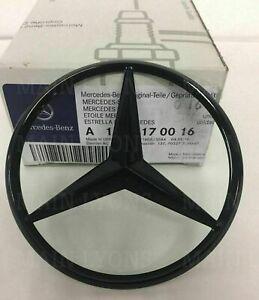 Mercedes GLC W253 Gloss Black Rear Boot Badge Star emblem A2538170016