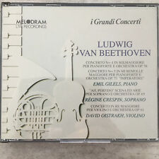 BEETHOVEN: Gilels / Crespin / Oistrakh - Live (IT Melodram 2-CD-Box 28034 / neu)