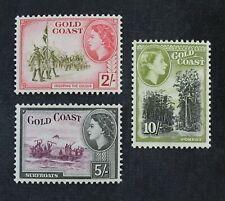 Ckstamps: Gb Stamps Collection Gold Coast Scott#157-159 Mint Nh Og