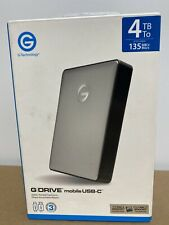 G-Technology G-DRIVE mobile USB-C 4TB Portable Hard Drive