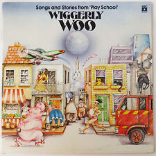 Wiggerly Woo Songs & Stories by Abc Play School, RCA 1984 LP Vinyl Record