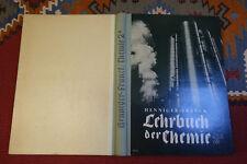 EP459: Henniger Franck Lehrbuch der Chemie 1940 ca. 258 Seiten