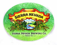 Sierra Nevada Brewery, Califorina - 3x3.75 Logo Beer Sticker Decal New!