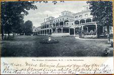 1905 Postcard: Windsor Hotel - Adirondacks, Elizabethtown, New York Ny