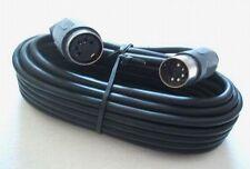 MIDI Kabel Verlängerung Midikabel Kupplung 2,5m 5-polig Audiokabel Videokabel