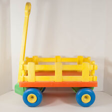 Vintage 1979 Mattel Tuff Stuff Child Size Toy Wagon Cart