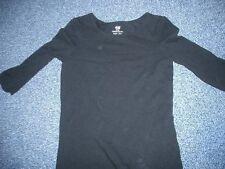 H&M - Longshirt  134/140  Basic-Teil  Schwarz  sehr hübsch  TOPZUSTAND