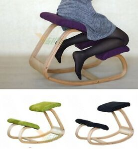 Ergonomic Kneeling Chairs Stool Home Office Furniture Computer Posture Wooden