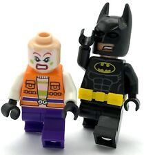 LEGO LOT OF 2 BATMAN MINIFIGURES JOKER HENCHMEN VS THE DARK KNIGHT SUPER HEROS