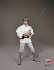 SO-TOYS 1/6 Star Wars Luke Skywalker White clothes suit NEW action figure