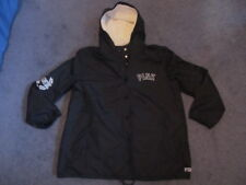 NIP VICTORIA'S SECRET PINK SHERPA LINED COACHES JACKET LARGE
