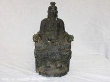 China Taoism Classical Bronze Copper TaiShang Laojun Taoist Buddha God Statue