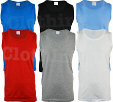 Unbranded Loose Fit Big & Tall Sleeveless T-Shirts for Men