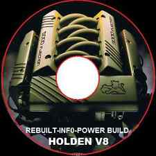 HOLDEN V8 304-308-355-stroker ENGINE Workshop Manual CDROM 4.9L 5.0L 5.7L V8