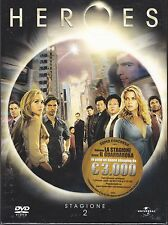 4 Dvd Box Cofanetto **HEROES ♦ STAGIONE DUE 02** nuovo 2007