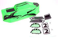 ABSIMA Karosserie grün 1:10 Hot Shot Buggy Brushed 1230074  - fahrfertig - Neu
