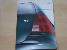 52308) VW Bora Variant Prospekt 03/1999