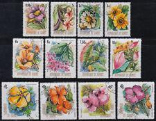 Guinea Guinée 1974 used Mi.688/99 A Blumen Flowers [st3390]