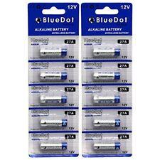 BlueDot Trading 10 pack of 27A Batteries, 12 Volt, alkaline dry cell battery