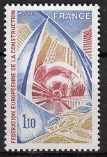FRANCE TIMBRE NEUF  N° 1934 **  FEDERATION EUROPEENNE DE LA CONSTRUCTION