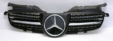 "Mercedes SLK 98-04 R170 ""R171 Style"" Front Black & Chrome Hood Sport Grill W170"