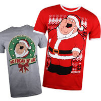 Family Guy - Christmas Collection - T-shirt - Mens - Gift - Size S,M,L,XL,XXL