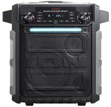 ION Block Rocker Sport mobiler Bluetooth Lautsprecher 100W Schwarz - OVP + NEU!