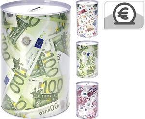 Spardose Metallspardose Sparbüchse Eurospardose Geldspardose Jumbo XXL  KI