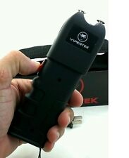 VIPERTEK High Voltage 999MV Rechargeable Stun Gun w/LED Light