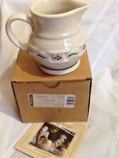 Longaberger Pottery Creamer~Woven Traditions Classic Blue~Usa~Nib