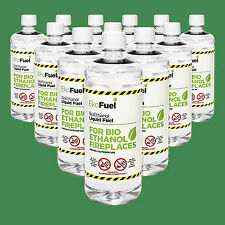 BioEthanol Fuel 12L, FREE NEXT DAY DELIVERY, Premium Grade Quality, Clean Burn