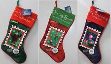 3-SET ARTHUR CHRISTMAS STOCKINGS Holiday Decorations Animated Movie Cartoon NEW
