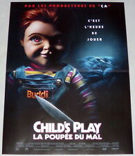 CHiLD'S PLAY Aubrey Plaza Toy doll HoRRor Chucky  Klevberg SMALL French POSTER
