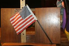 """New listing 12"""" Military Action Figure Accessory 1/6 Part Us American Flag Pole"""