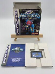 Metroid Fusion Nintendo Game Boy Advance Spiel 2002 OVP mit Handbuch Protektor