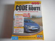 PC DVD-ROM NEUF - CODE DE LA ROUTE / FORMATION INTERACTIVE