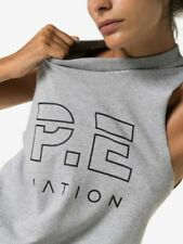 Pe Nation Womens Throw in the Towel Vest Workout Fitness Tank Tops Singlet XS-L