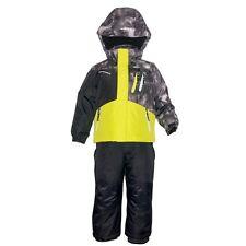 WEATHERPROOF Boys Ski Snow Jacket W/ Coordinating Bib Pants 2-Piece Set, Size 2T