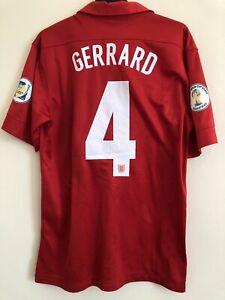 England Away 2013 Shirt Kit Gerrard Original M