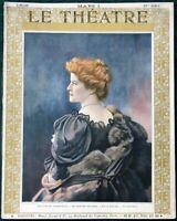 Le Théatre orig French 1908 Gounod's Faust Opera & Théatre du Vaudeville