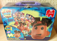 New CBBC Strange Hill High 101 Piece Double Sided Jigsaw Puzzle in Lunchbox