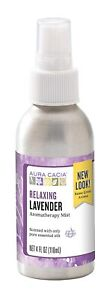 Aura Cacia Relaxing Lavender Mist | GC/MS Tested for Purity | 118 ml (4 fl....