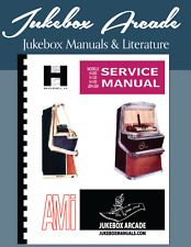 Ami Model H Series Service Manual, Covers all Models, from Jukebox Arcade