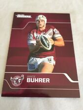 Jamie Buhrer 2013 NRL Traders Manly Sea Eagles Rugby League Card